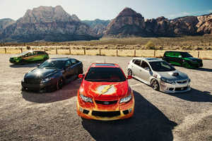 The Justice League Kia Cars Fight Against Hunger