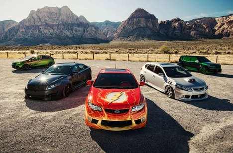 Justice League Kia Cars