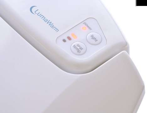 LumaWarm Heated Nightlight Toilet Seat