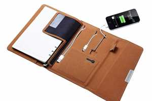 The MiLiPower Notebook is the First Notebook Phone Charger
