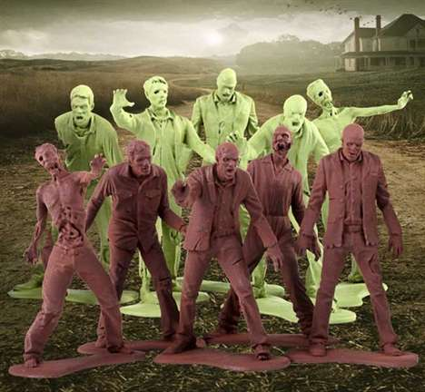 Walking Dead Zombie Army Men
