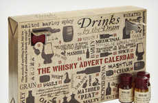 Alcoholic Countdown Calendars - The Whisky Advent Calendar Will Make December Days More Bearable