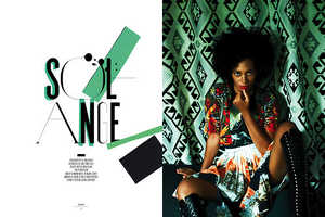 The Rika Magazine 'Solange' Editorial Stars Stylist Songstress Solange Knowles