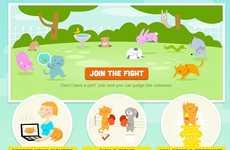 Cutesy Pet Face-Off Websites