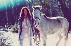 Free People November 2012 Catalogue Features German & Danish Folklore