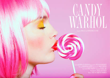 Candy Worhol by Tomaas