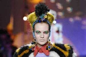 The Meadham Kirchhoff Fall/Winter 2013 Collection is Bag Lady Chic