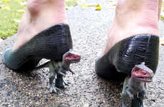 These DIY Dinosaur Heels Will Have You Walking Like a T-Rex