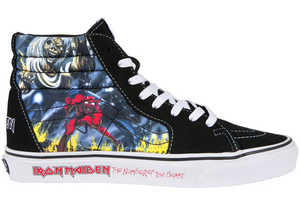 Vans x Iron Maiden Shoes Represent 'The Number of the Beast' Hit