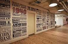 Commemorative Vinyl Murals - Alex Fowkes Celebrates Sony Music's 125th Anniversary