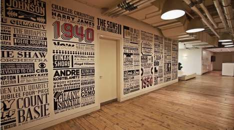 Commemorative Vinyl Murals - Alex Fowkes Celebrates Sony Music
