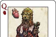 Zombified Playing Cards