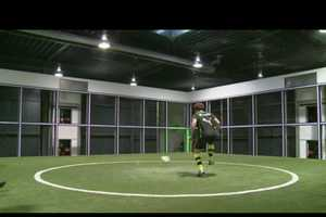 The Footbonaut Kicks Soccer Training Up a Notch