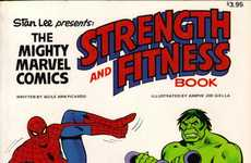 The Marvel Fitness Book May Help Train the Next Torch-Bearer