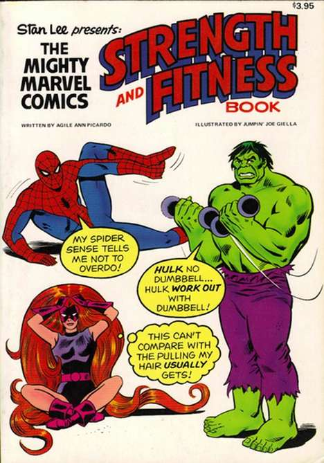 marvel fitness book