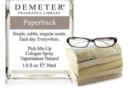 Literature-Scented Sprays - The Demeter Paperback Cologne Smells Like Aged Books