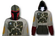 Villainous Bounty Hunter Sweaters - The Boba Fett Costume Hoodie Makes You a Feared Star Wars Figure