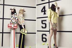 The MSGM Resort 2013 Collection Merges Women's Fashion and Sports