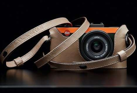 Color-Blocked Cameras - The Paul Smith Leica X2 is Chic and Functional