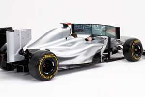 The Formula 1 High End Racing Car Simulator Costs More Than the Real Thing
