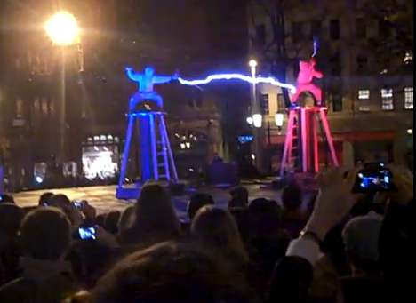 Tesla Coil Fight