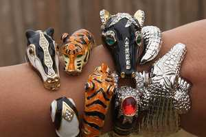 These Bangles are the Perfect Pieces to Show Off Your Wild Side