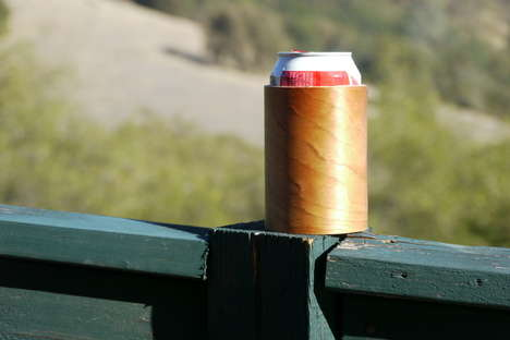 Wooden Beer Koozies