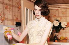 From Suburban Damsel Portraits to Edgy Homemaker Editorials
