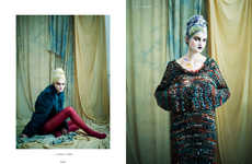 Porcelain Doll-Inspired Portraits - The Ones 2 Watch Oliver Editorial is Elegantly Regal
