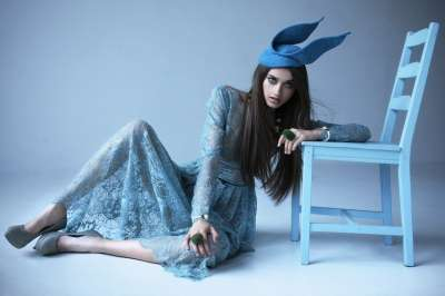 Demure Fairytale Fashions - The Maciej Bernas Papermint Editorial Plays Dress-Up