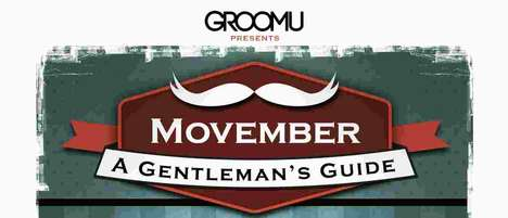 guide to movember infographics