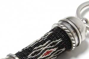 The Chamula Hitched Horsehair Keychain is Simple and Manly