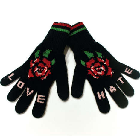fake tattoo gloves