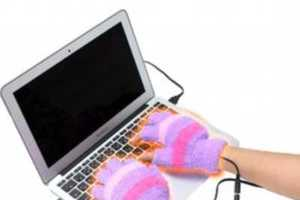 USB Heated Mittens Make It Impossible to Avoid Work