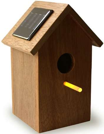 Solar Birdhouse