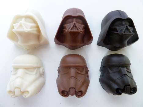 Galactic Film-Inspired Confections - This Star Wars Chocolate is Sure to Please a Fan