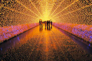 Japan's Winter Light Festival Recreates Scenery One Rarely Gets to See