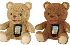 The Cocolo Bear Interacts with Children Using a Built-in Smartphone Dock