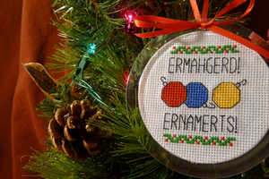 Ermahgerd Ernamernts are Hilarious Holiday Ornaments