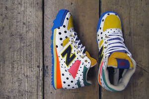The Frapbois x New Balance Shoes are Funky Fun Kicks