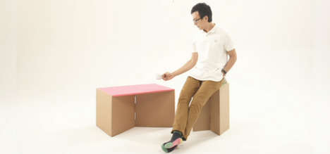 cardboard box furniture