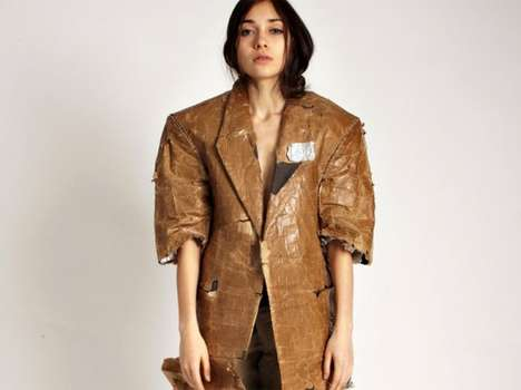 Aki Goto Paper Bag Jacket