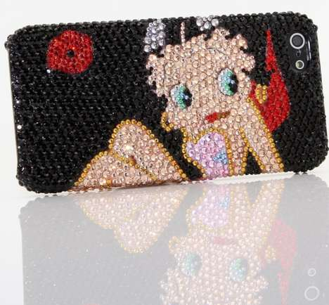 Betty Boop Bling iPhone 5 Cover