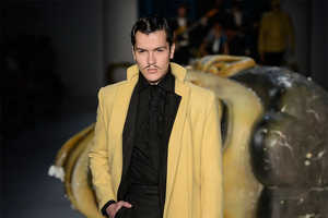 The Joao Pimenta Fall 2013 Runway Captures the Movember Season