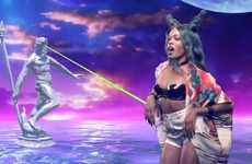Seapunk Rapper Music Shorts - The Azealia Banks 'Atlantis' Video Embraces an Aesthetic S