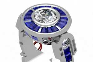 The R2-D2 Engagement Ring is a Beautifully Geeky Design