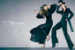 The Karlie Kloss Vogue China 2012 Photoshoot Plays with Perspective