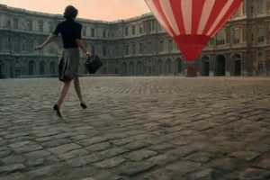 The Louis Vuitton Advertising Campaign Film Shows a Famed Landmark