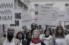 Silent Fashion Demonstrations