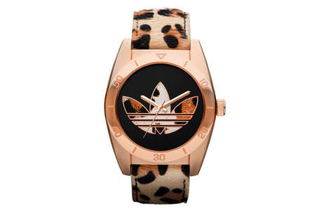Fiercely Exotic Wristwatches - The Adidas Originals Santiago Holiday 2012 Watches are Ferocious